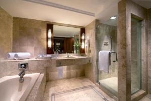 A bathroom at The Sultan Hotel Jakarta