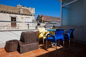 A balcony or terrace at Apartments Alen