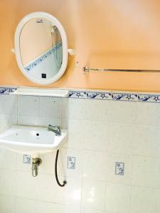 A bathroom at Aonang Blue Ba You Bungalow