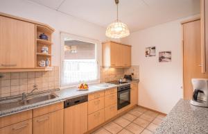 Küche/Küchenzeile in der Unterkunft Ferienhaus Alpspitz