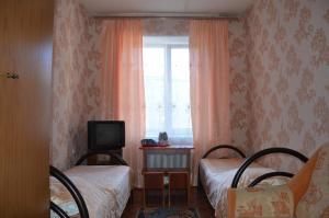 Гостиная зона в Hostel Prometey