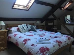 Cama o camas de una habitación en Red Lion Hotel