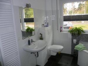 Ein Badezimmer in der Unterkunft Ferienhaus Charme