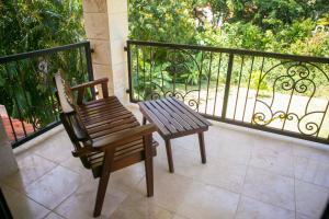 A balcony or terrace at Villa at Sea Horse Ranch Resort