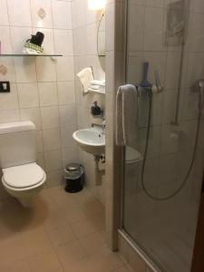 Ein Badezimmer in der Unterkunft Bed & Breakfast aux Enges