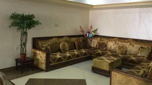A seating area at Al Salam Hotel