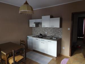 A kitchen or kitchenette at Guest House Raukar