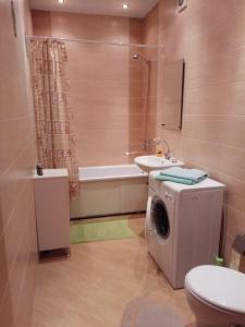 Ванная комната в 1-к на Московском