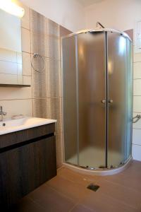 Ένα μπάνιο στο Kappatos Studios & Apartments