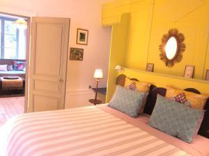 Un ou plusieurs lits dans un hébergement de l'établissement Le Murmure de la Falaise
