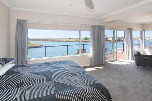 A view of the pool at Oceans Edge - Busselton or nearby