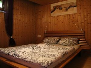 Ein Bett oder Betten in einem Zimmer der Unterkunft Haus Kurtz