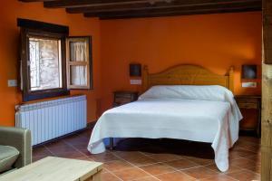 Cama o camas de una habitación en Molino del Medio