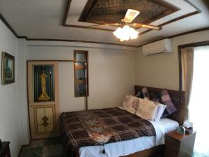 卡酷雷咖卡諾別墅房間的床