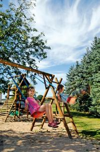Children's play area at Flair-Hotel Neeth