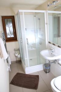A bathroom at Ski Jasna Chalet