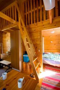 Kylpyhuone majoituspaikassa Kangasjoki Camping