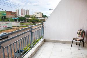 Uma varanda ou terraço em Hotel Arco Iris