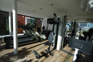 The fitness center and/or fitness facilities at Américas Benidorm Hotel