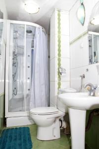 حمام في Belgrade Republic Square Apartment