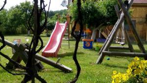 Children's play area at Villa Jun Guest House