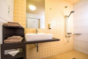 Ванная комната в Hotel Grenzfall