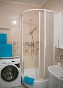Ванная комната в ZimaLeto apartment na Energetikov 9