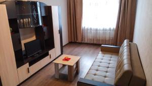 Гостиная зона в Уютные апартаменты на Высоковольтной 22