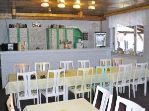 The lounge or bar area at Koliba Belveder