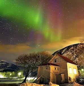 Borghildstua Feriehus om vinteren