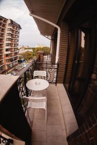 A balcony or terrace at Guest House BoNaMi