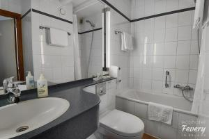 A bathroom at Hotel Fevery