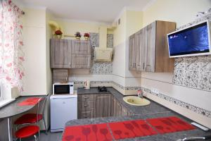 A kitchen or kitchenette at Apartment on Mira