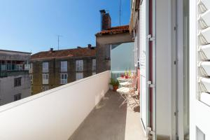 A balcony or terrace at Boutique Apartments Luce & Tonka