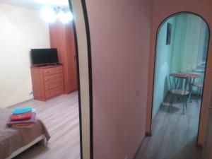 Телевизор и/или развлекательный центр в Apartment on Sovetskaya 24