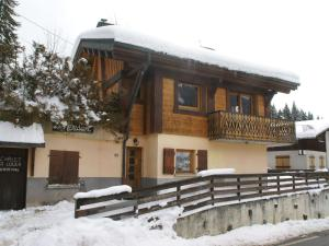 Cozy Holiday Home in Les Gets near Ski Area during the winter