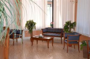 Area soggiorno di Hotel Rosamarina