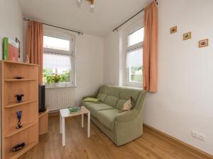 Ein Sitzbereich in der Unterkunft Apartment Grünbach 3