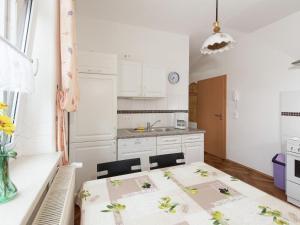 Küche/Küchenzeile in der Unterkunft Apartment Grünbach 3