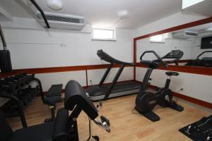 The fitness centre and/or fitness facilities at Hotel Trogir Palace