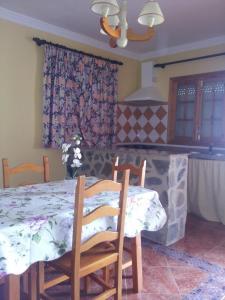 Cama o camas de una habitación en El Almendral