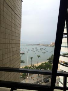 A general sea view or a sea view taken from the aparthotel