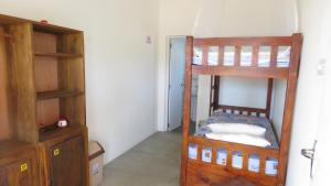 A bunk bed or bunk beds in a room at The Long Hostel