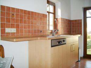 Küche/Küchenzeile in der Unterkunft Ferienhaus Schmitt