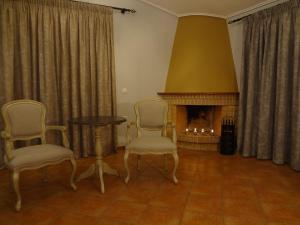 Χώρος καθιστικού στο Villa Anastasia