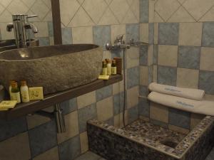 Ένα μπάνιο στο Villa Anastasia