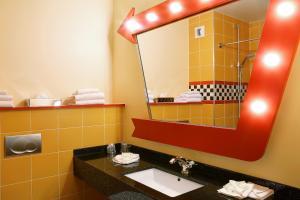 A bathroom at Disney's Hotel Santa Fe®