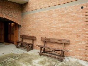 Area soggiorno di Exquisite Villa with Sauna in Cesena