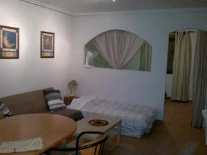 A seating area at Comfortable Holiday Home in Almoradi with Swimming Pool