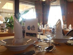 Ein Restaurant oder anderes Speiselokal in der Unterkunft Hotel Soll Cress Koksijde